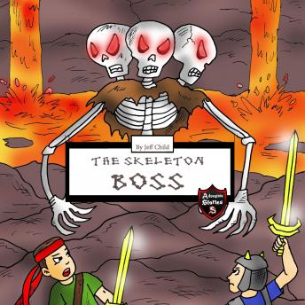 Skeleton Boss: Epic Battle with a Giant Three-Headed Skeleton