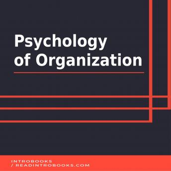 Psychology of Organization