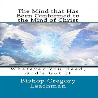 Mind that Has Been Conformed to the Mind of Christ sample.