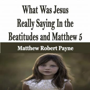 What Was Jesus Really Saying In the Beatitudes and Matthew 5