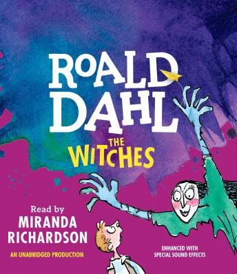 Witches, Audio book by Roald Dahl