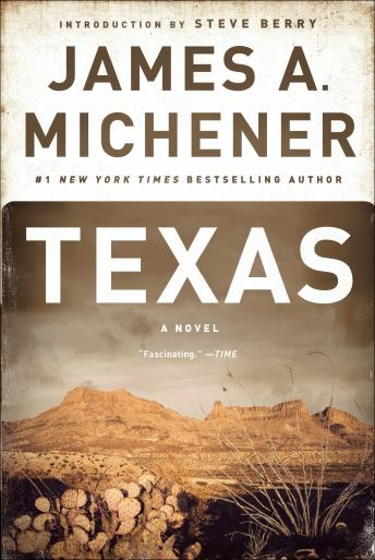 Texas: A Novel, James A. Michener