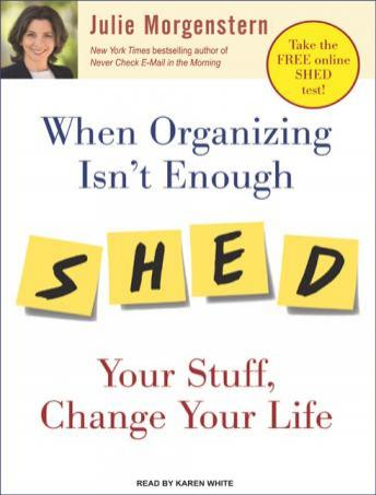 When Organizing Isn't Enough: Shed Your Stuff, Change Your Life sample.