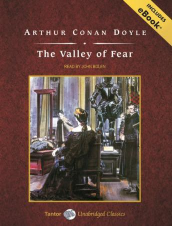 Valley of Fear [With eBook], Arthur Conan Doyle