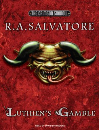 Luthien's Gamble, Audio book by R. A. Salvatore