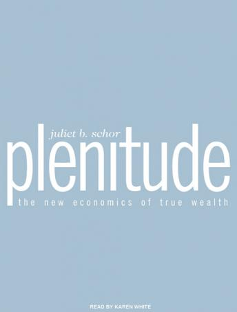 Plenitude: The New Economics of True Wealth, Juliet B. Schor