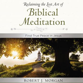 Moments of Reflection: Reclaiming the Lost Art of Biblical Meditation: Find True Peace in Jesus, Robert Morgan