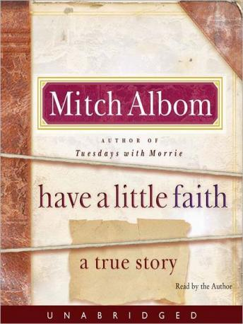 Download Have a Little Faith by Mitch Albom