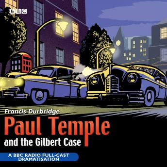 Paul Temple And The Gilbert Case sample.