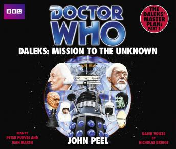 Doctor Who Daleks: Mission To The Unknown