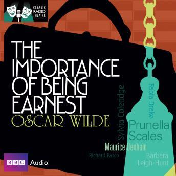 Importance Of Being Earnest, Oscar Wilde