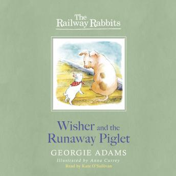 Wisher and the Runaway Piglet: The Railway Rabbits: Book One, Georgie Adams