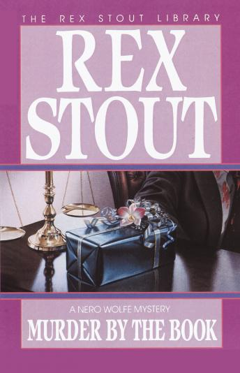 Murder By the Book, Rex Stout