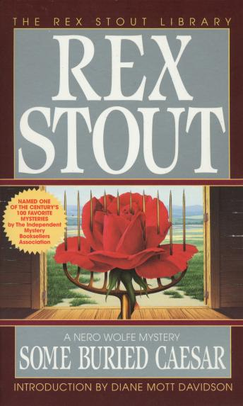 Some Buried Caesar, Rex Stout