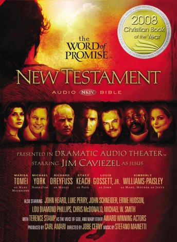 The Word of Promise Audio Bible - New King James Version, NKJV: New Testament: NKJV Audio Bible
