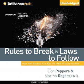 Rules to Break and Laws to Follow, Martha Rogers, Don Peppers