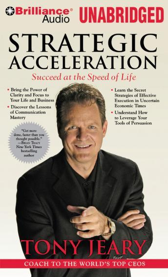 Strategic Acceleration, Tony Jeary