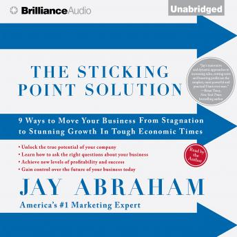Sticking Point Solution, Jay Abraham