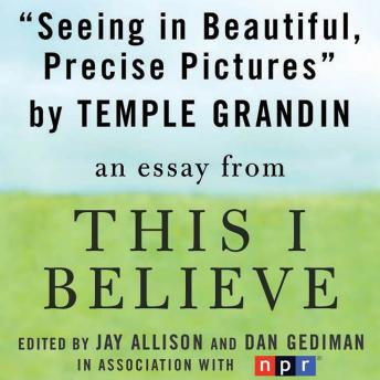 Seeing in Beautiful, Precise Pictures: A 'This I Believe' Essay