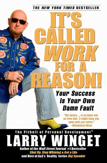 Download It's Called Work For a Reason!: Your Success Is Your Own Damn Fault by Larry Winget