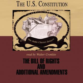 Bill of Rights and Additional Amendments, Jeffrey Rogers Hummel