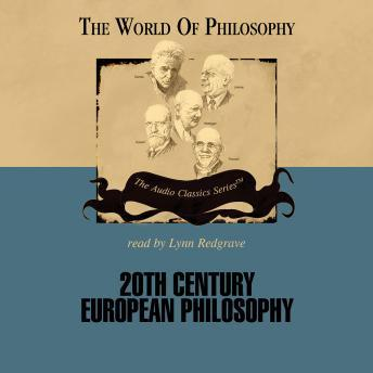 20th Century European Philosophy, Professor Ed Casey