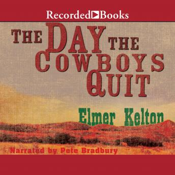 Day the Cowboys Quit, Elmer Kelton