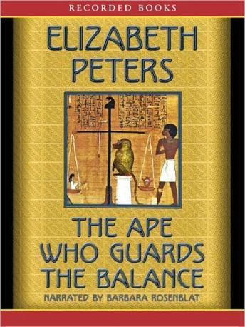 Ape Who Guards the Balance, Elizabeth Peters