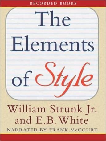Download Elements of Style by E. B. White, William Strunk