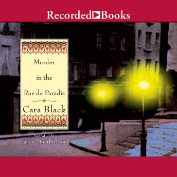 Murder in the Rue de Paradis, Cara Black