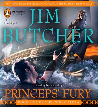 Princeps' Fury: Book Five of the Codex Alera, Jim Butcher