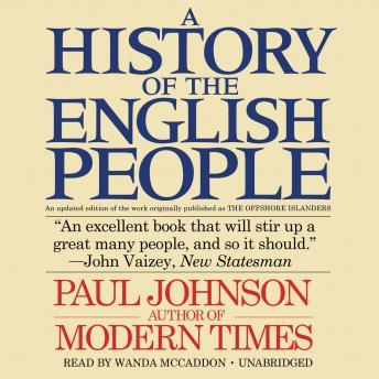 History of the English People, Paul Johnson