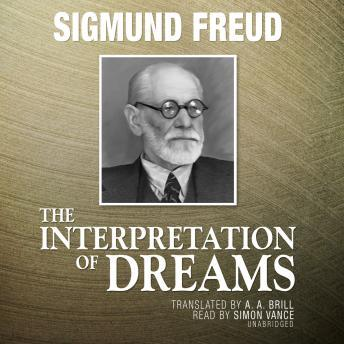 Interpretation Of Dreams, Sigmund Freud