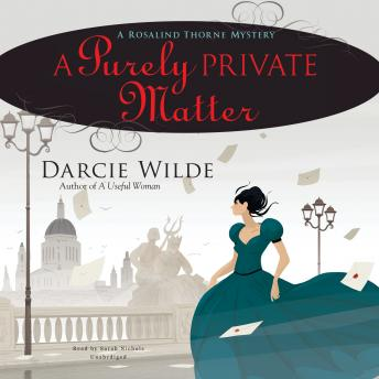 A Purely Private Matter: A Rosalind Thorne Mystery