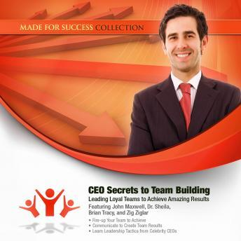 CEO Secrets to Team Building: Leading Loyal Teams to Achieve Amazing Results, Made for Success