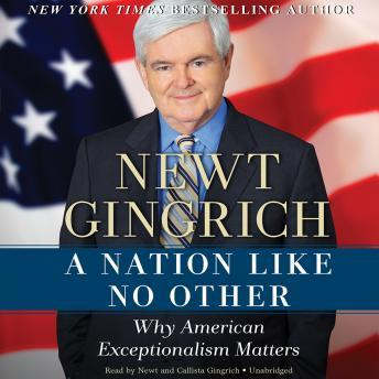 A Nation Like No Other: Why American Exceptionalism Matter, Vince Haley, Newt Gingrich
