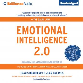 Emotional Intelligence 2.0, Audio book by Travis Bradberry, Jean Greaves