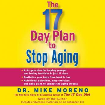 17 Day Plan to Stop Aging, Dr Mike Moreno