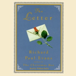Letter, Richard Paul Evans