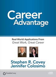 Career Advantage: Real World Applications, Jennifer Colosimo, Stephen R. Covey