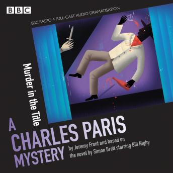 Charles Paris: Murder in the Title: Charles Paris: Murder in the Title