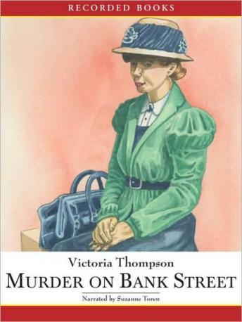 Murder on Bank Street, Victoria Thompson