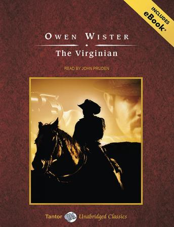 Virginian [With eBook], Owen Wister