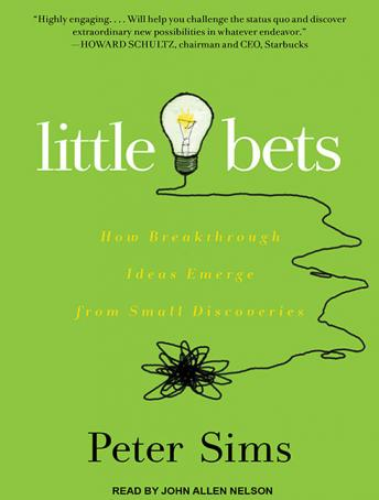 Little Bets: How Breakthrough Ideas Emerge from Small Discoveries sample.