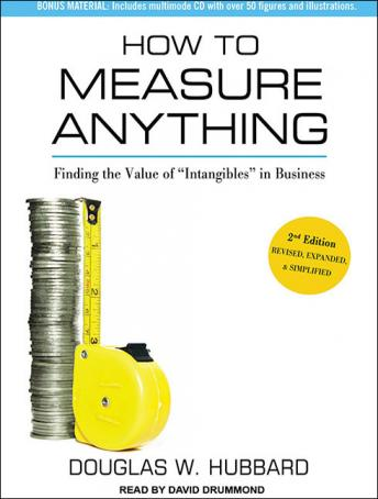 How to Measure Anything: Finding the Value of, Douglas W. Hubbard