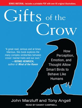 Gifts of the Crow: How Perception, Emotion, and Thought Allow Smart Birds to Behave Like Humans, Tony Angell, John Marzluff
