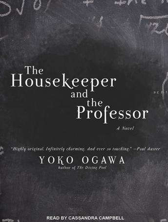 Housekeeper and the Professor, Yoko Ogawa