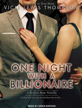One Night With A Billionaire, Vicki Lewis Thompson