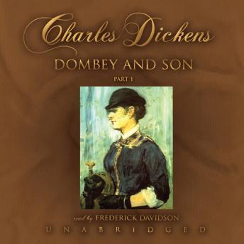 Dombey and Sons: Dombey and Son, Charles Dickens