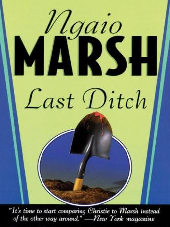 Last Ditch, Ngaio Marsh